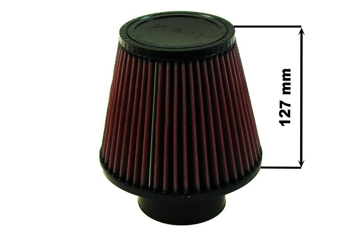 Filtr stożkowy K&N RU-3580 60-77mm - GRUBYGARAGE - Sklep Tuningowy